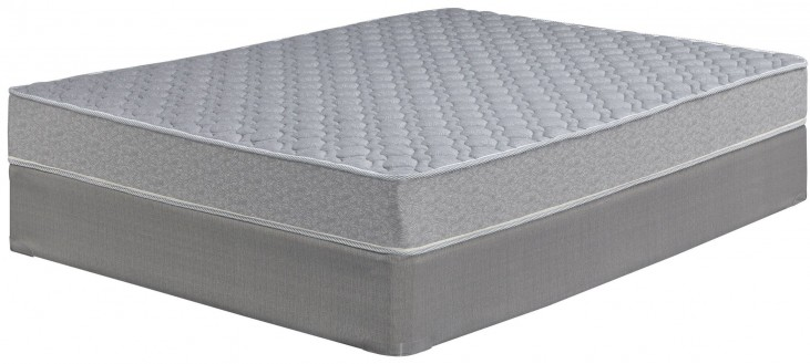 Tori Cove Starter Innerspring White Full Mattress