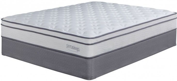 Longs Peak Ltd White Full Mattress