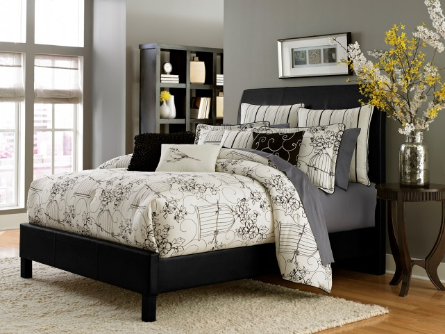 Madison Queen 9 Pcs Comforter Set