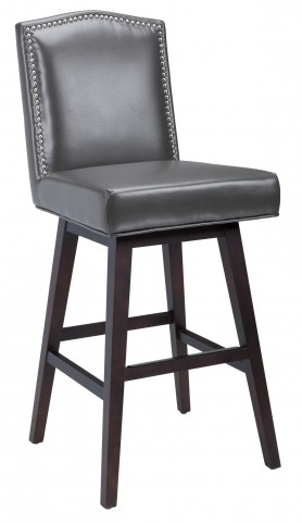 Maison Grey Swivel Barstool