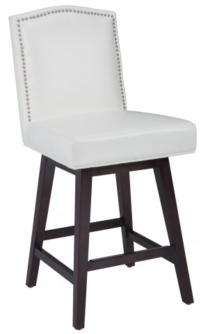 Maison Ivory Swivel Counter Stool