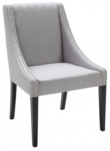 Malabar Dining Chair Fabric in Silver Linen