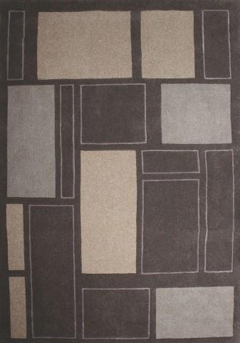 "Malabar Leveled Squares Textured 63"" Rug"