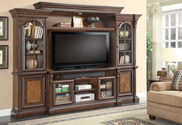 Marquis Vintage Sienna Entertainment Wall
