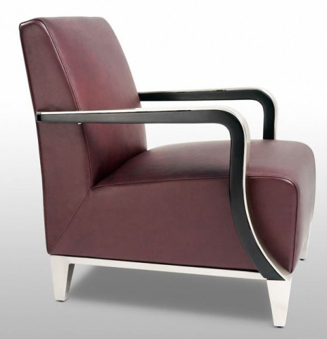 Marbella Brown Leather Arm Chair