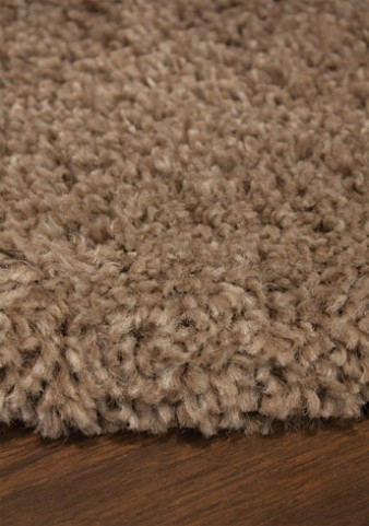 Maroq Solid Tan Soft Touch Medium Rug