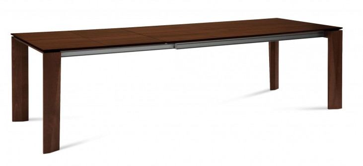 Maxim Chocolate Extendable Rectangular Dining Table