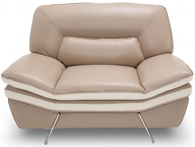 Mia Bella Carlin Brown Mocha Chair