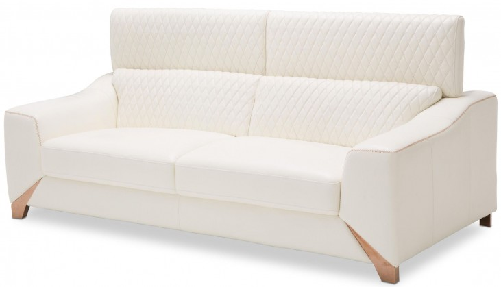 Mia Bella Cream Loveseat