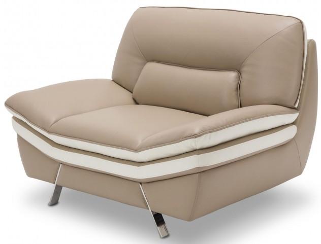 Mia Bella Carlin Brown Chair