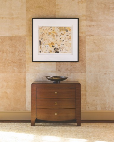 Mercer Deep Rich Brown Nightstand