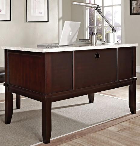 Monarch Dark Cherry Desk