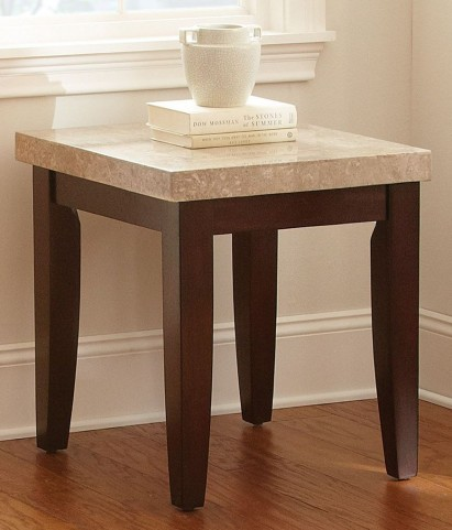 Monarch Cordovan Dark Cherry End Table