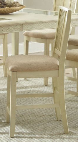 Melody White Counter Chair Set of 2