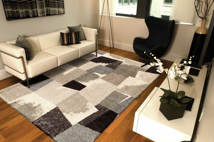 "Wild Weave Rampart Slate Medium 90"" Rug"