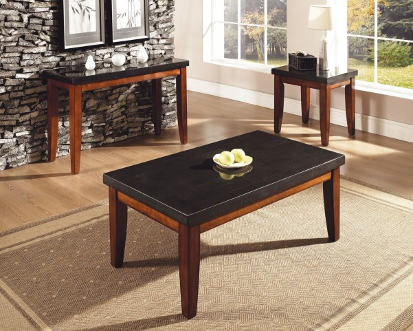 Granite Bello Medium Cherry Occasional Table Set