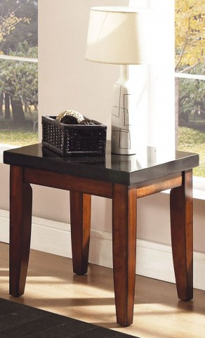 Granite Bello Medium Cherry End Table