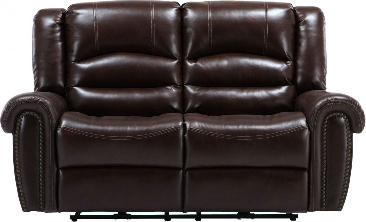 Gershwin Java Dual Power Reclining Loveseat