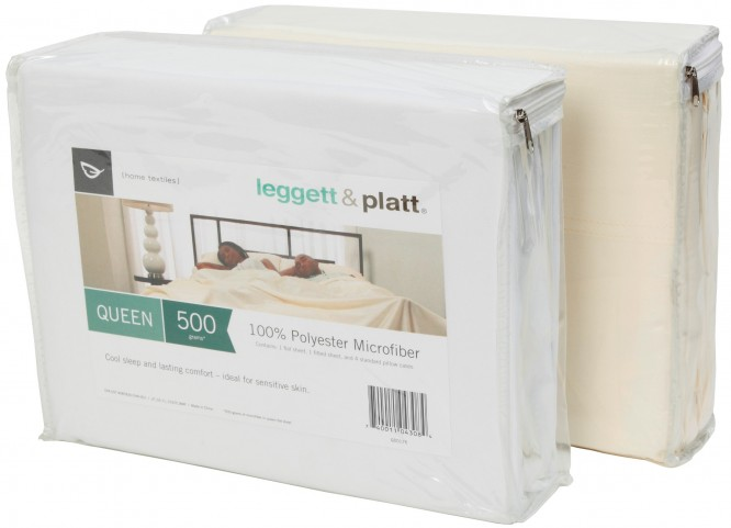 Microfiber Beige King Size Sheet