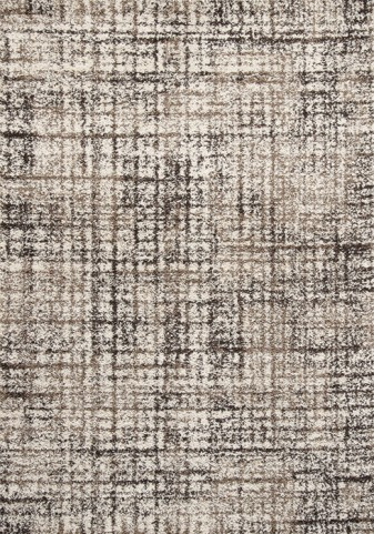 Milo Simple Brown Distressed Small Rug