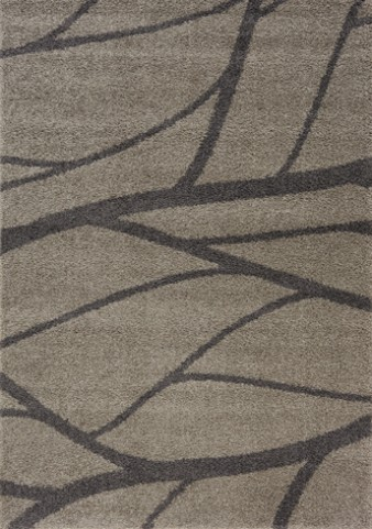Milo Grey Tree Branch Large Rug