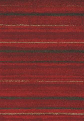 Milo Red/Brown Airbrush Stripes Medium Rug