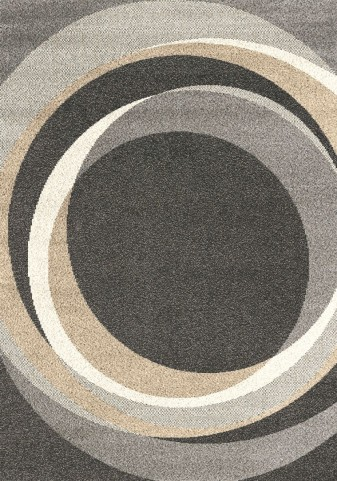 "Milo Winter Circles 94"" Rug"