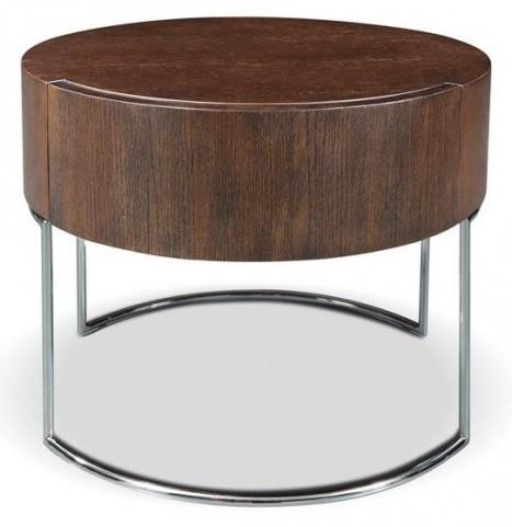 Mint Brown Oak End Table