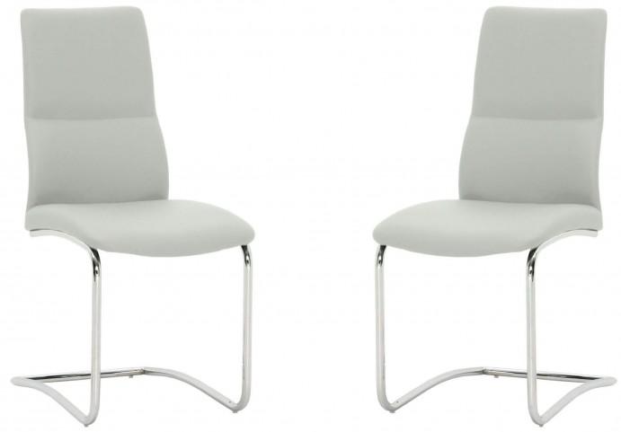Ritz Cinder Grey Mira Dining Chair Set of 2