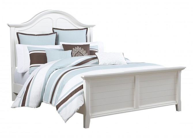 Mirren Harbor Arched King Panel Bed
