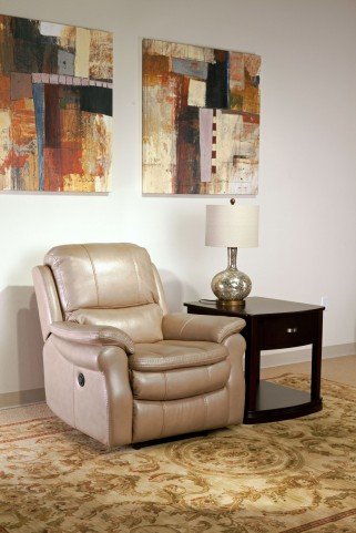 Juno Sand Power Recliner