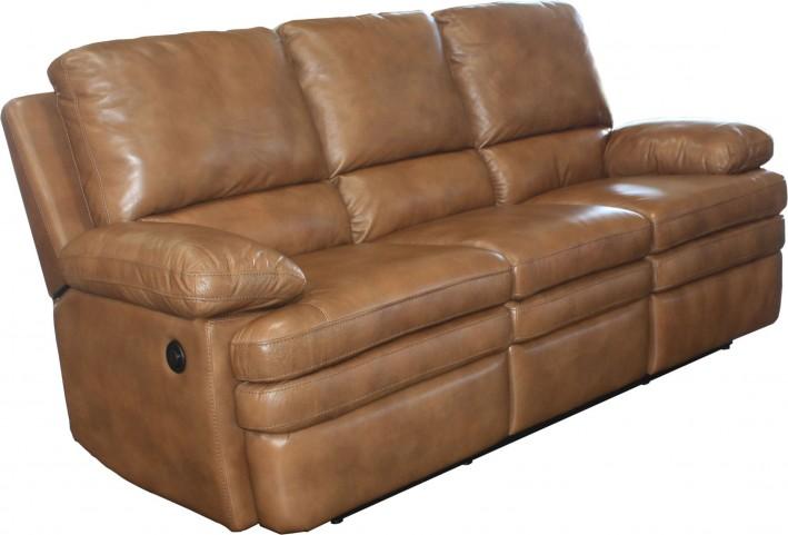 Meyer Saddle Dual Power Reclining Sofa