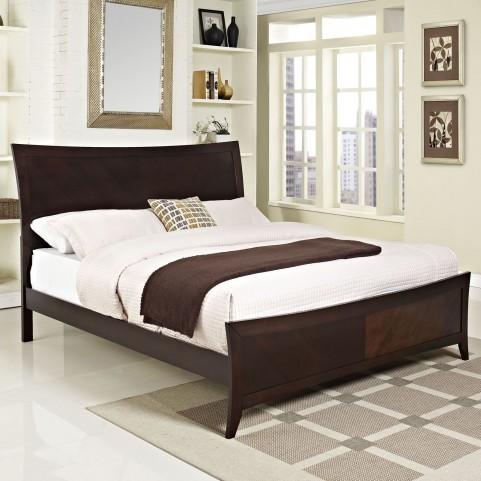 Elizabeth Cappuccino King Bed
