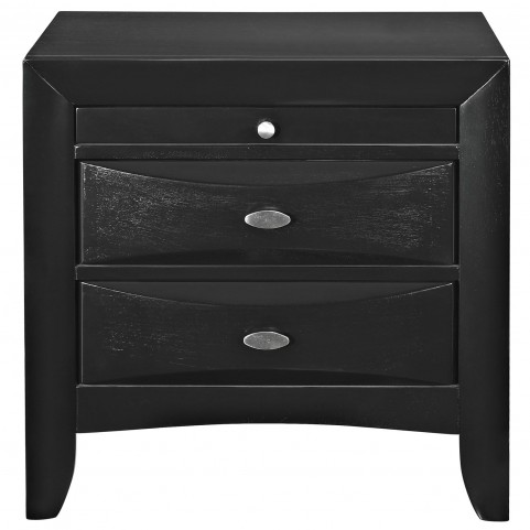 Harrison Black Nightstand