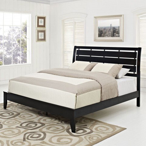 Olivia Black King Bed