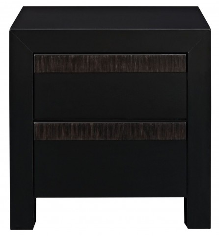 Tommy Black Nightstand