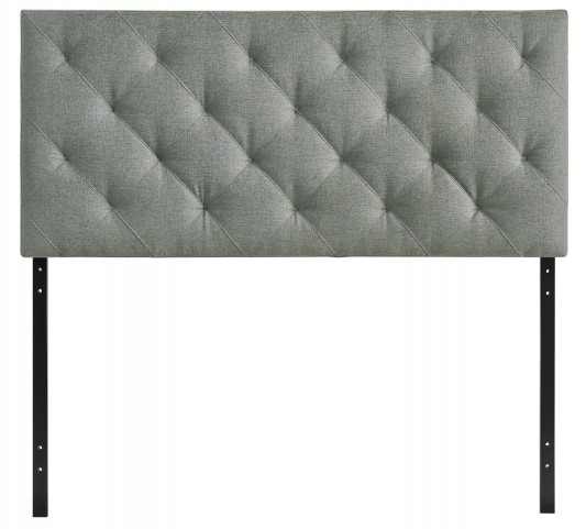 Theodore Gray Queen Fabric Headboard