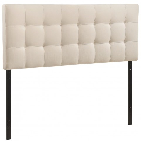 Lily Ivory Queen Fabric Headboard