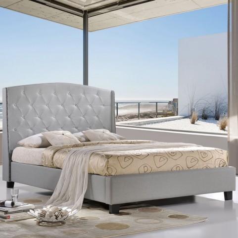 Lydia Gray Queen Bed