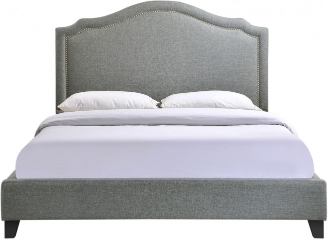 Charlotte Gray Queen Bed