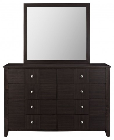 Holly Black Dresser and Mirror