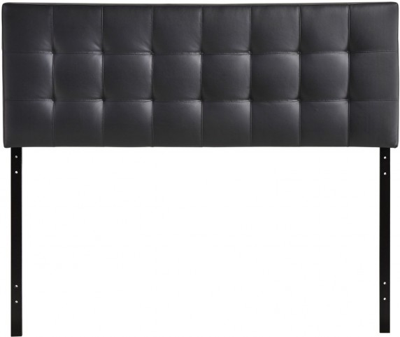 Lily Black King Vinyl Headboard