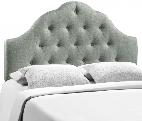 Sovereign Gray Full Fabric Headboard