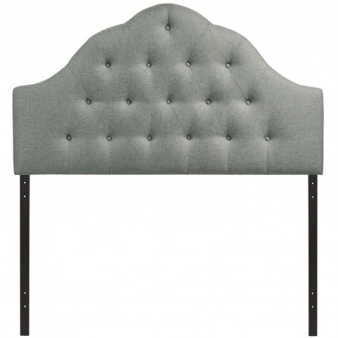 Sovereign Gray Full Fabric Headboard