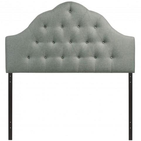 Sovereign Gray King Fabric Headboard
