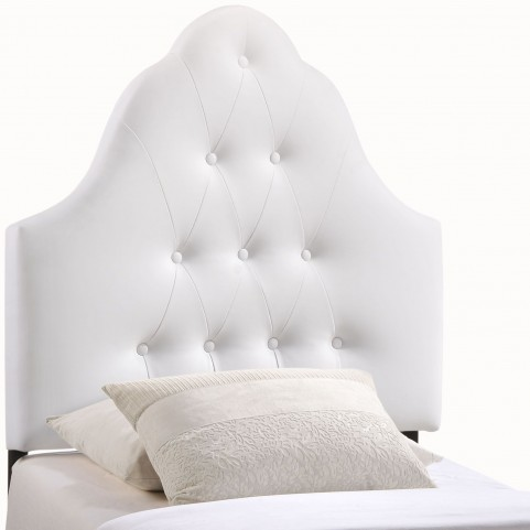 Sovereign White Twin Vinyl Headboard