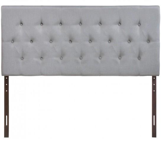 Clique Gray Queen Headboard