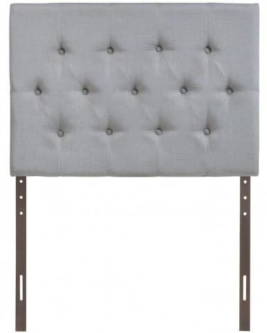 Clique Gray Twin Headboard