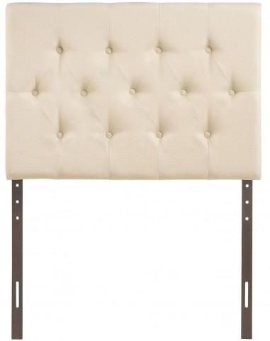 Clique Ivory Twin Headboard