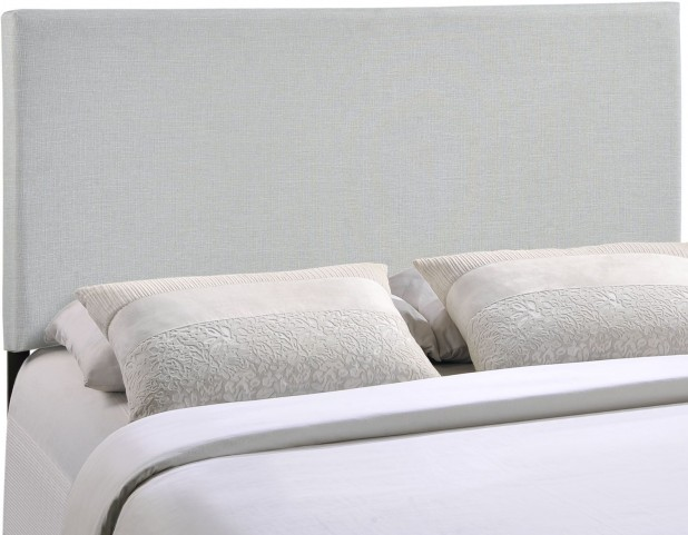 Region Gray King Upholstered Headboard